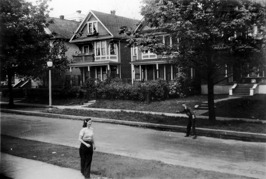 1100 Block of Pendrell Street - 1939