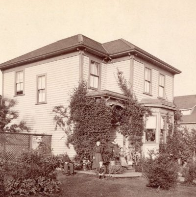 Henry Mole's residence at 1025 Comox Street in 1995