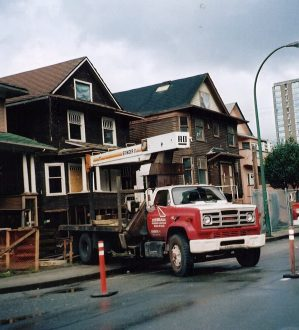 Thurlow Street Construction