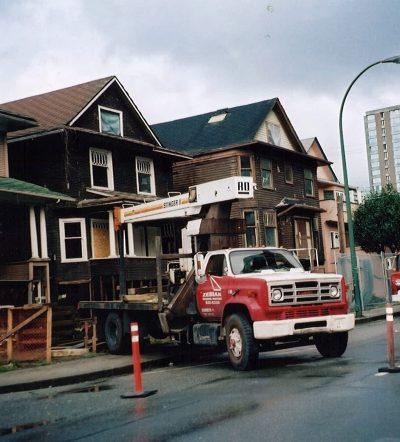 Thurlow Street Construction